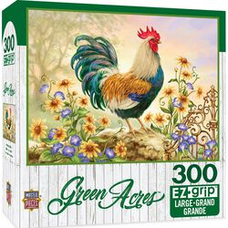"Green Acres EZ Grip Linen Textured Puzzle - ""Morning Glory"""
