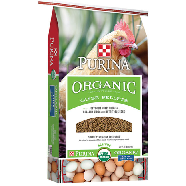 Purina Organic Layer Pellets image number null