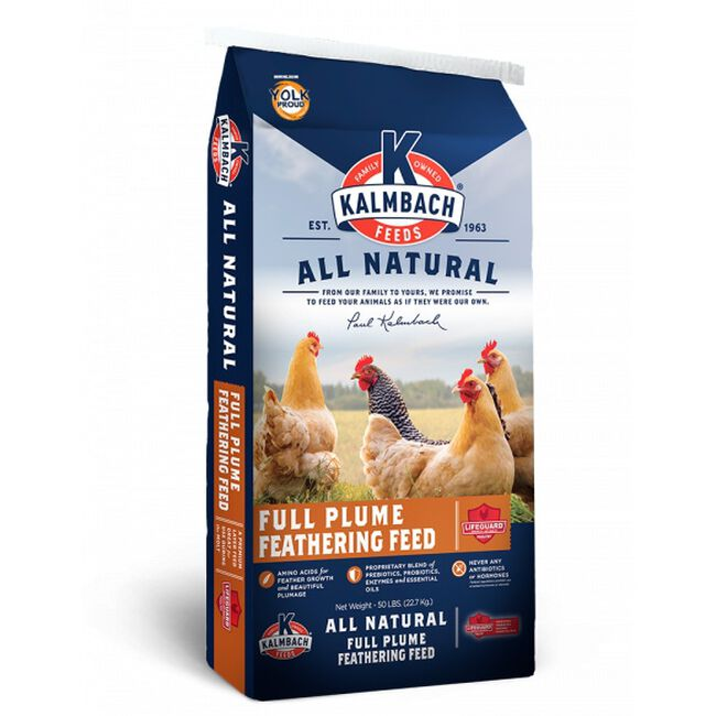 Kalmbach Full Plume™ Feathering Feed image number null