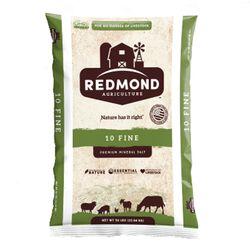 Redmond Agriculture #10 Fine Premium Mineral Salt 50 lb Bag