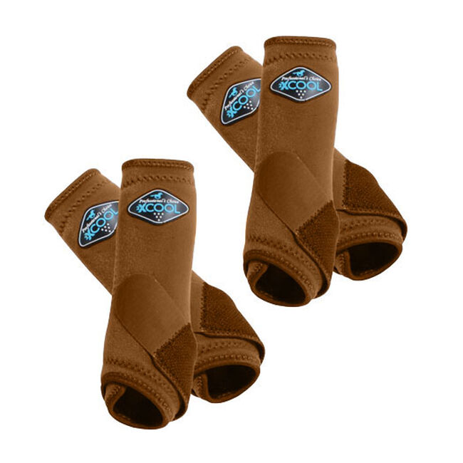Professional's Choice 2XCool Sports Medicine Boots Value 4 Pack - Chocolate image number null