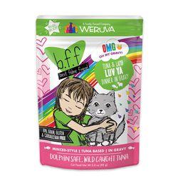 Weruva BFF OMG Tuna & Lamb Luv Ya Cat Food Pouch