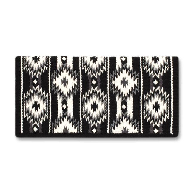 Mayatex 2x2 Saddle Blanket - Black image number null