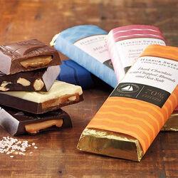Harbor Sweets Artisan Caramel Salt Dark Chocolate Bar
