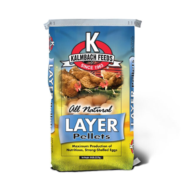 Kalmbach 16% Layer Pellets image number null