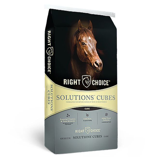 Kalmbach Right Choice Solutions 14 Cube Equine Feed image number null