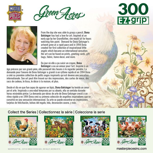 """Green Acres EZ Grip Linen Textured Puzzle - """"Morning Glory"""" image number null"""