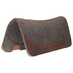 Weaver Premium Contoured 100% Wool Felt Saddle Pad - Gray