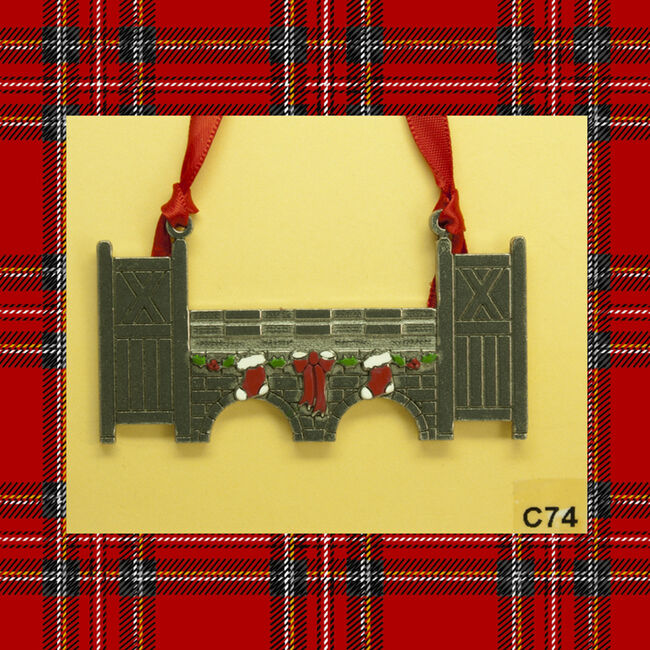 Loriece On Course Jump Ornament image number null