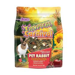 Tropical Carnival Gourmet Pet Rabbit Food 5lb