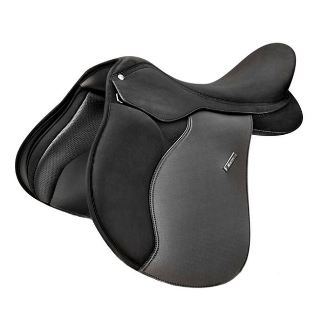 Wintec 2000 All Purpose Saddle with HART - Black - 17.5 Wide image number null