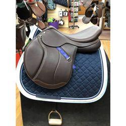 Demo Bates Caprilli Close Contact + Luxe Leather Saddle