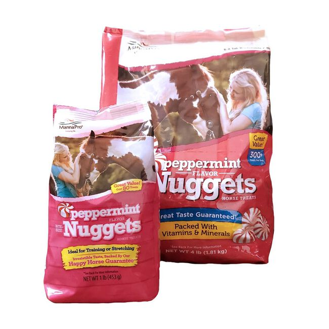 Manna Pro Peppermint Flavor Bite Sized Nuggets Horse Treats image number null