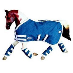 Breyer Blue Blanket & Shipping Boots Traditional Series