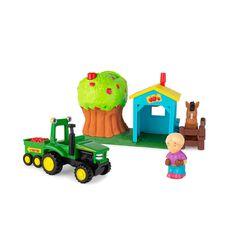 John Deere Apple Farm Orchard Toy Set