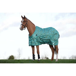 Saxon Mesh Fly Sheet With Gusset Belly Wrap Standard Neck - Pony Sizes