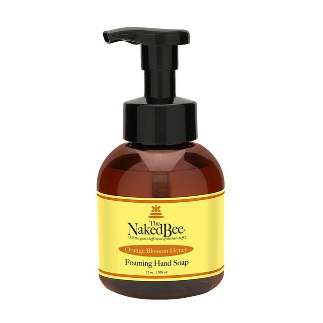 Naked Bee Foaming Soap - Orange Blossom - image number null