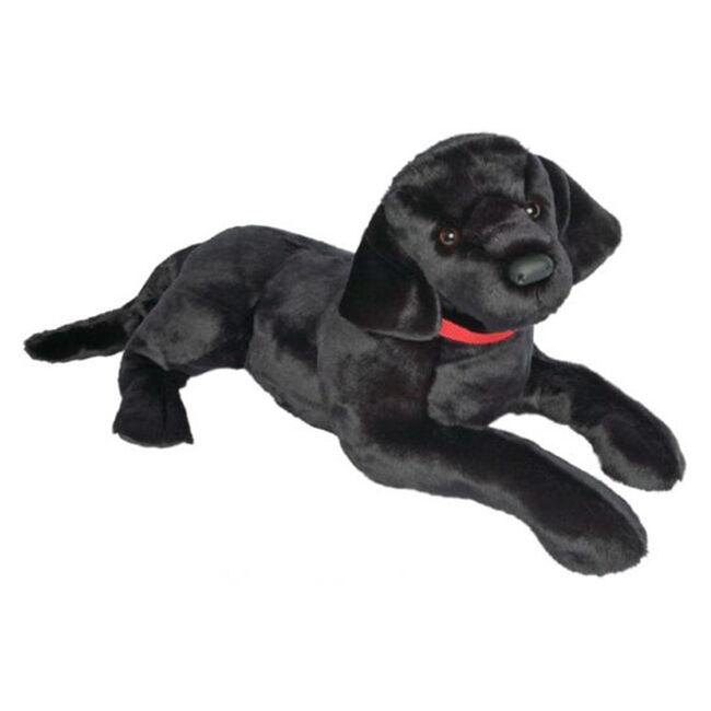Douglas Dickens Black Lab Plush Toy image number null