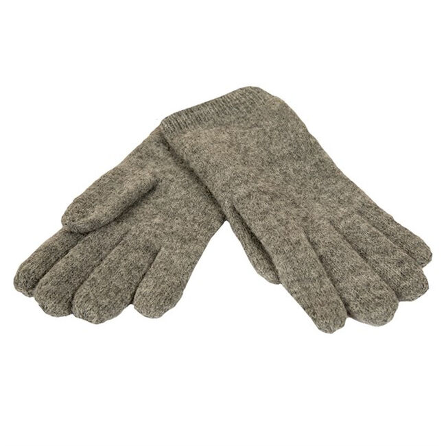 Janus Women's Design Wool 100% Wool Gloves - Gray image number null