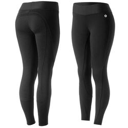 Horze Women's Active Winter Silicone Full Seat Tights