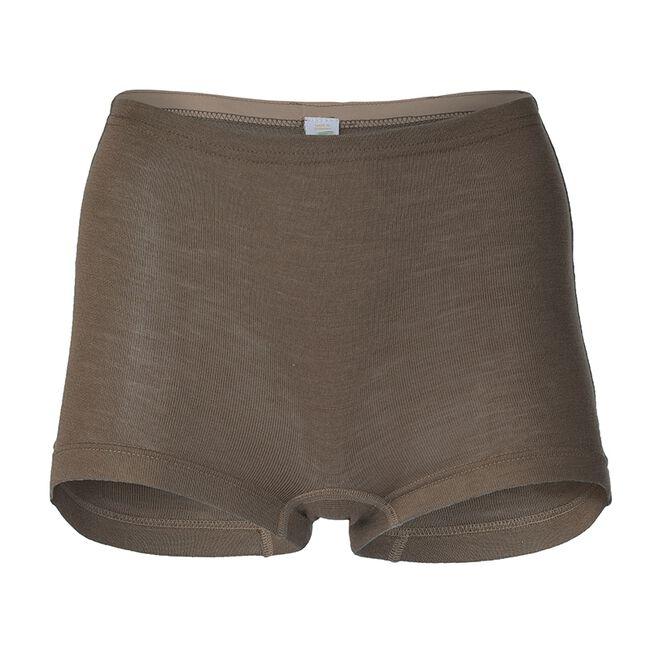Engel Women's Wool Shorts - Brown image number null