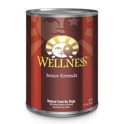 Wellness Senior Formula Canned Dog Food 12.5 oz Can