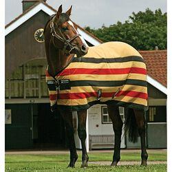 Horseware Rambo Newmarket Fleece Sheet Gold Witney Stripe