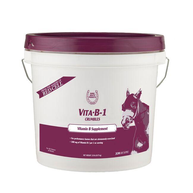 Horse Health Vita B-1 Crumbles - 20lb image number null