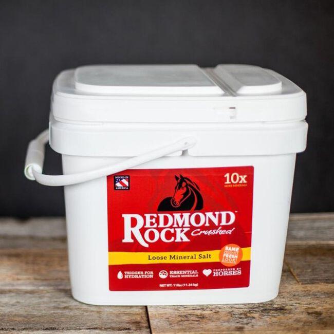 Redmond Equine Red Rock Crushed - Equine Minerals 25lb image number null
