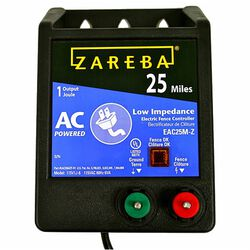Zareba 25 Mile AC Low Impedance Charger