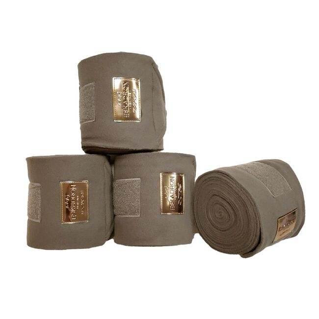 Eskadron Heritage Collection Fleece Polo Bandages - Taupe image number null