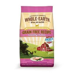 Whole Earth Grain Free Dry Kitten Food 5 lb