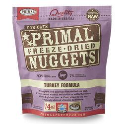 Primal Freeze Dried Turkey Nugget Cat Food