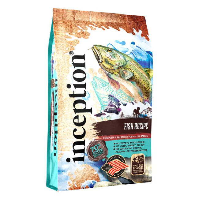 Inception Pet Food Fish Recipe Dry Dog Food image number null