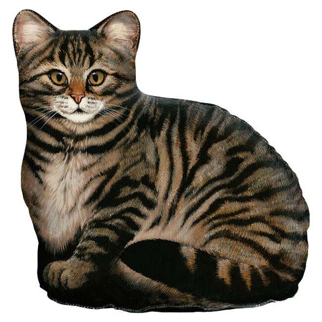 Fiddler's Elbow Brown Tabby Cat Doorstop  image number null