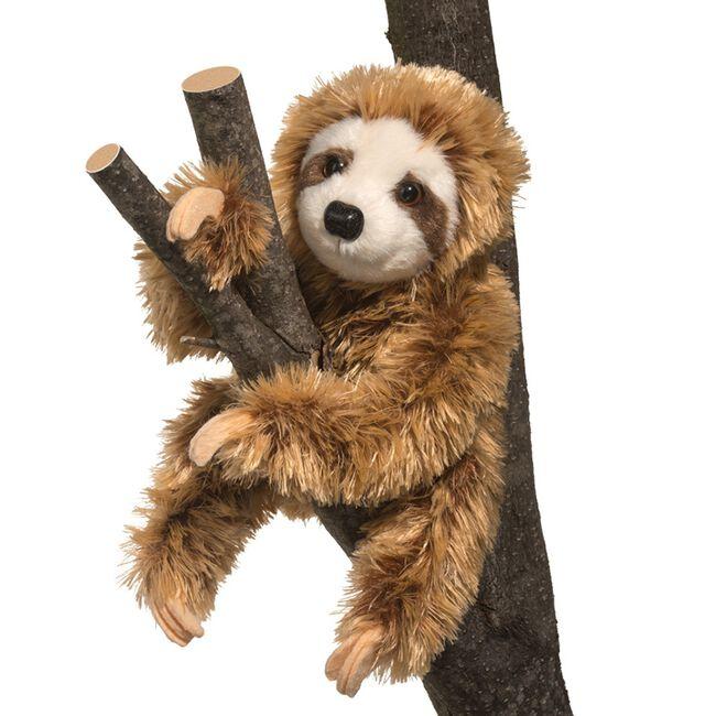 Douglas Simon Sloth Plush Toy image number null