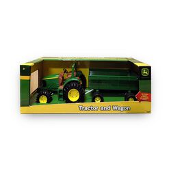 John Deere Tractor and Wagon Toy