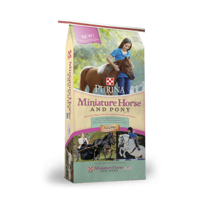 Purina® Miniature Horse & Pony Feed  image number null