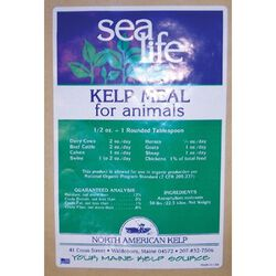 Organic Kelp Meal 50 lb