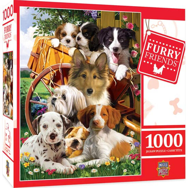 """Furry Friends Puzzle - """"Ready for Work"""" image number null"""