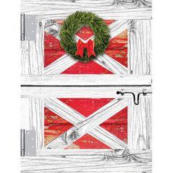 Horse Hollow Press Boxed Christmas Cards Barn Door