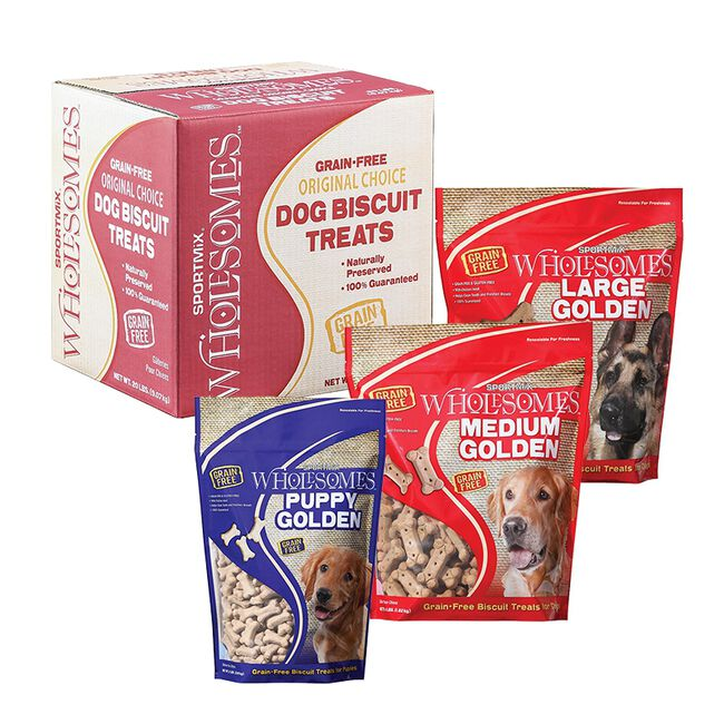 Sportmix Wholesomes Golden Dog Biscuit Treats  image number null