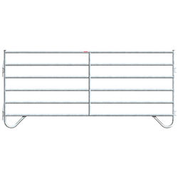 Behlen 12' Galvanized Utility Corral Panel - Pin Hook-up