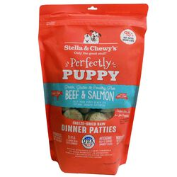 Stella & Chewy's Perfectly Puppy Beef & Salmon Freeze Dried Patties