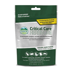 Oxbow Critical Care Herbivore 141g Packet