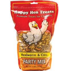 Happy Hen Party Mix Chicken Treat - Mealworm & Corn