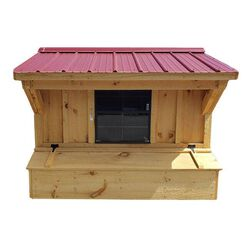 NV Farms 5 x 7 Chicken Coop with Red Roof