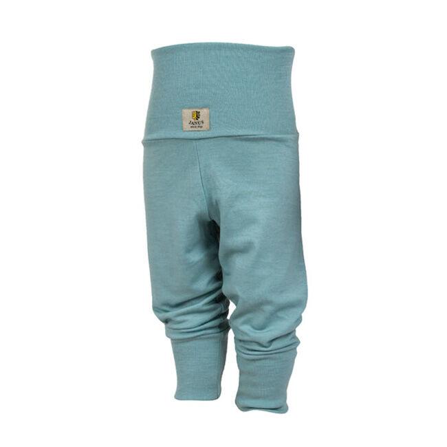 Janus Baby Wool Blend Solid Color Pants - Teal image number null