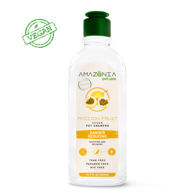 Amazonia Pet Care Vegan Passion Fruit Shampoo for Dogs image number null