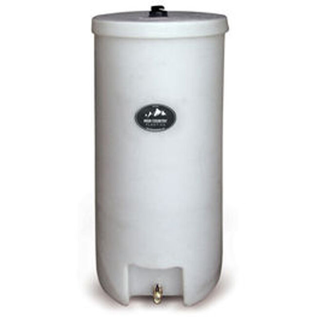 High Country Plastics Round Barrel Water Caddy - 35 Gallons image number null